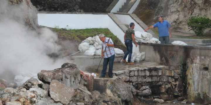 Expedición Volcanes de EE.UU: Primera etapa, Azores-PN de los Glaciares