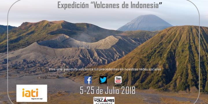 Expedición 2018: Volcanes de Canarias viajará a Indonesia