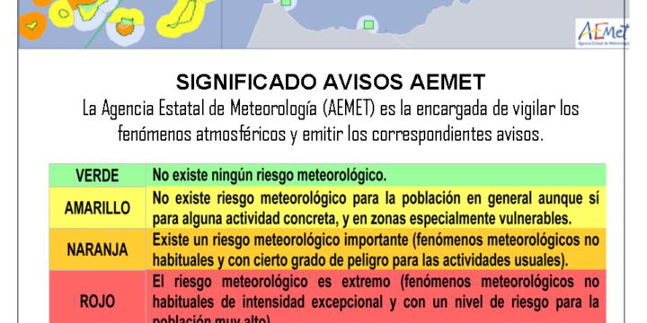 Gestión de los fenómenos meteorológicos adversos en Canarias