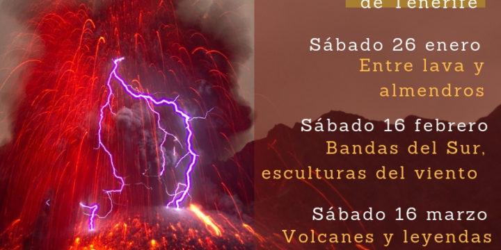 "Programa de Rutas ""Maravillas Volcánicas de Tenerife"""
